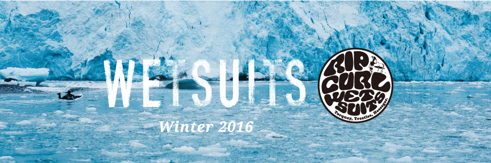 WETSUITS WINTER2016